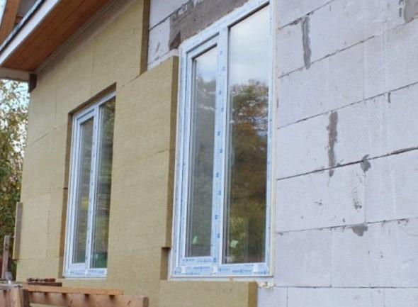 крепление пеноплекса на бетон