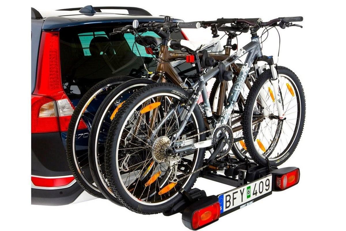 крепеж велосипеда к машине