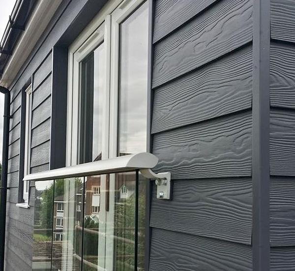 Сайдинг защищает фасад от внешних воздействий