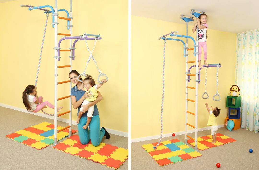Выполнение физических упражнений укрепляет здоровье ребенка