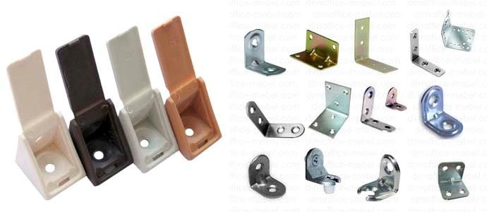Виды и особенности мебельных крепежей