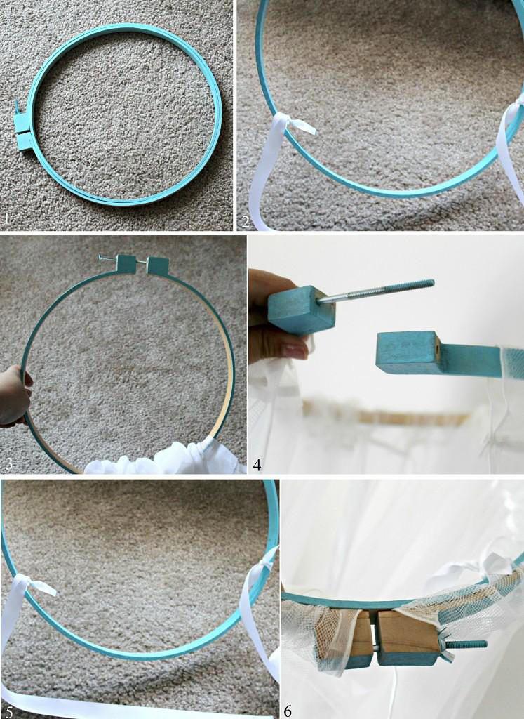 Инструкция по изготовлению крепления для балдахина