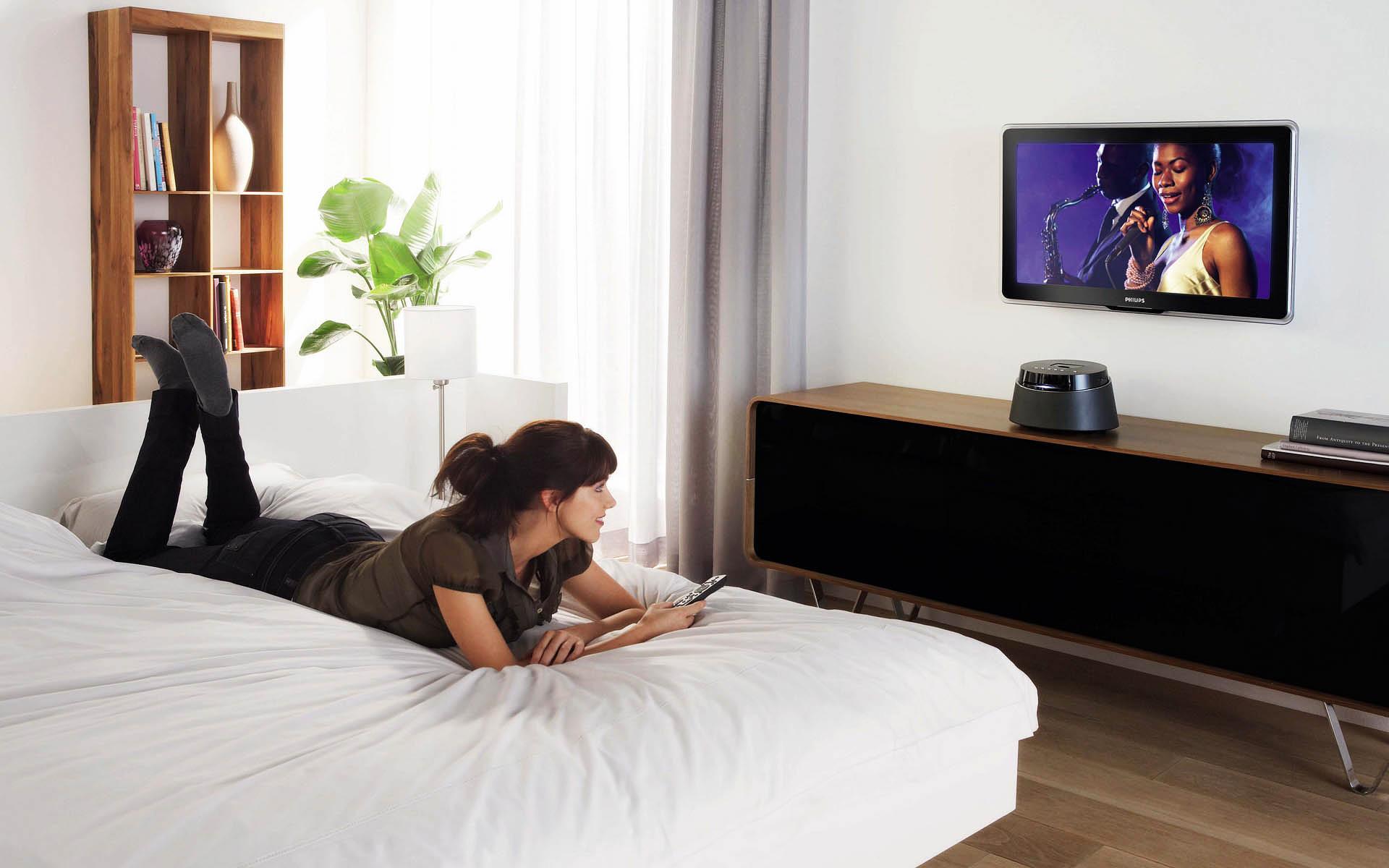 Смотреть телевизор должно быть удобно