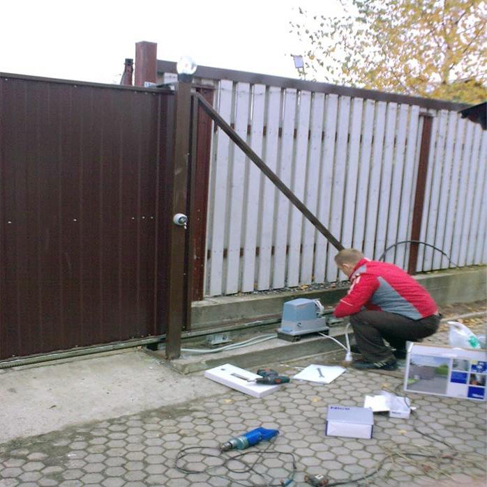 Перед монтажом ворот нужно проверить все размеры