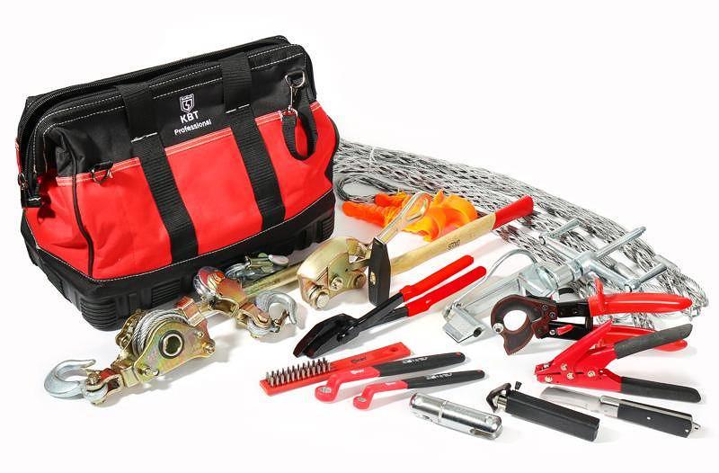 Набор необходимых инструментов и комплектующих