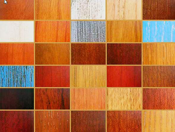 Отделочные стеновые панели отличаются широким разнообразием цветов и фактур поверхности
