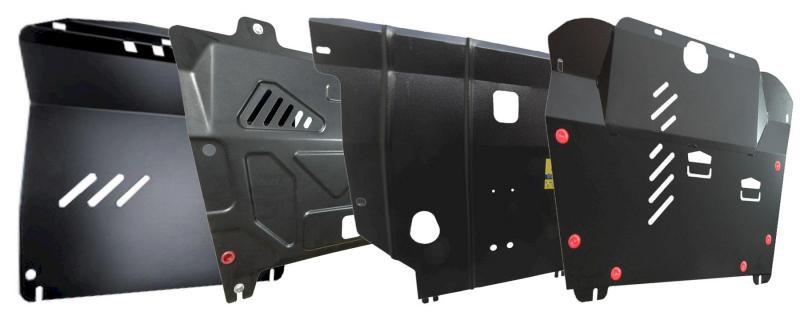 Установка защиты картера двигателя и особенности его крепления