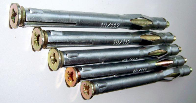 Рамный дюбель из металла