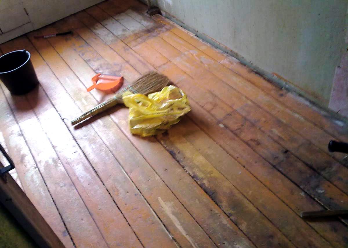 Подготовка пола перед монтажом покрытия