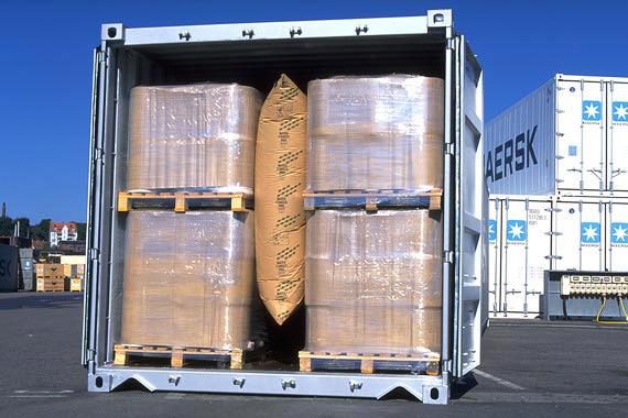 Пример использования воздушных пакетов