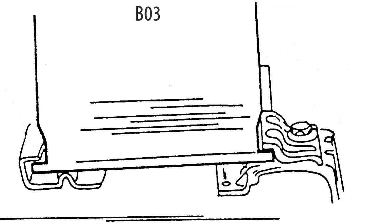 Кронштейн B03