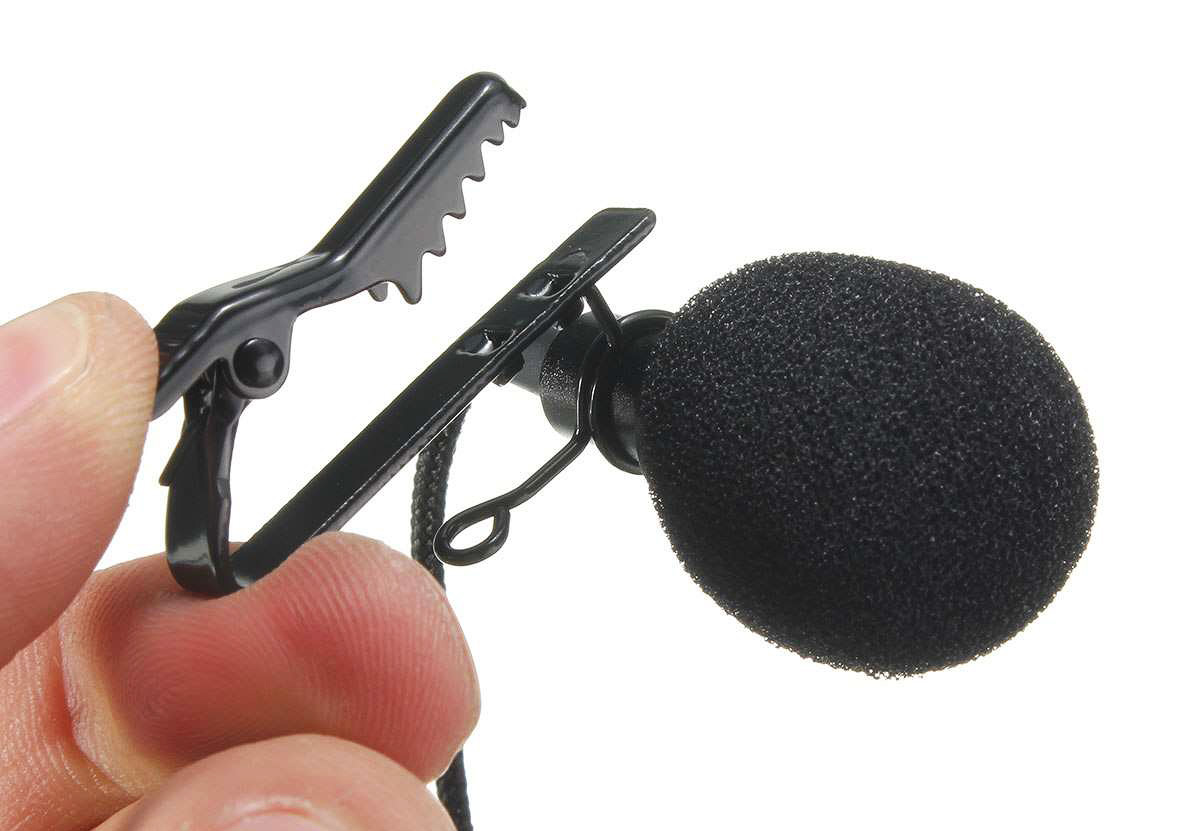 Прищепка для мини-микрофона