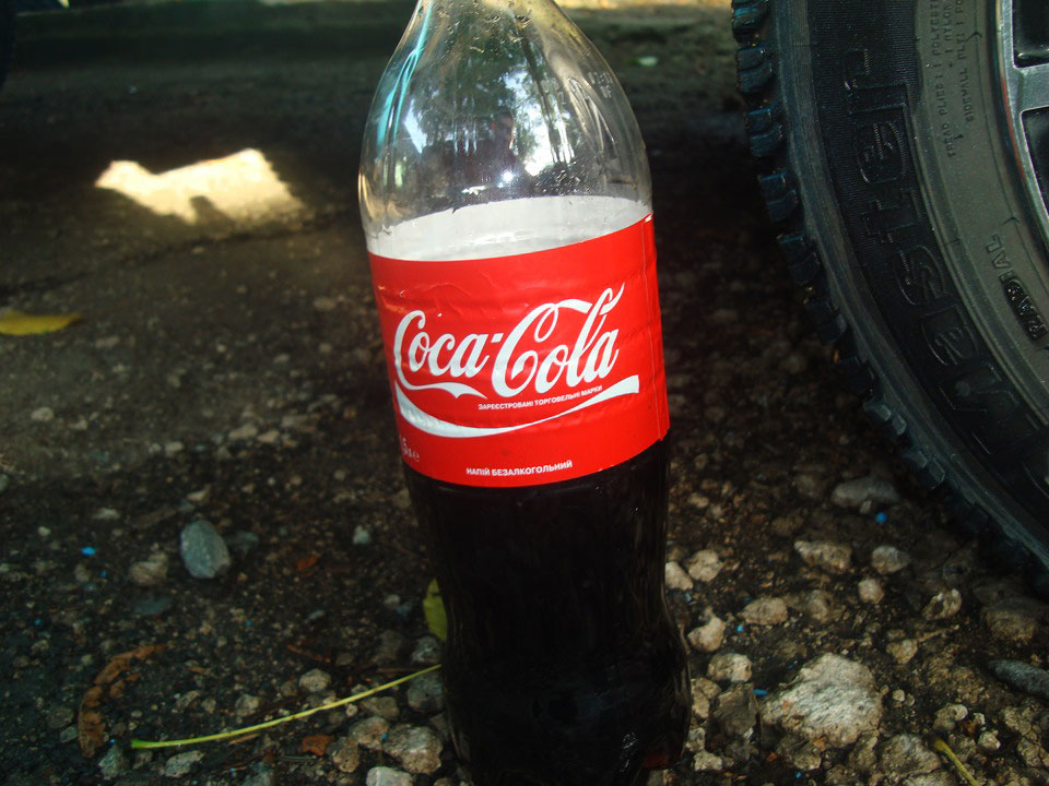 Кока-кола содержит ортофосфорную кислоту